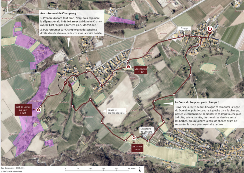 Balade viticole durant les caves ouvertes 2018
