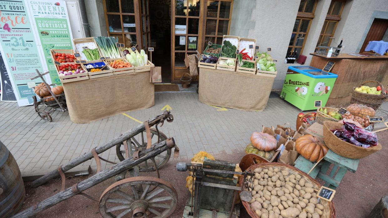 Ici, proche de vous, un marché : Les Graves